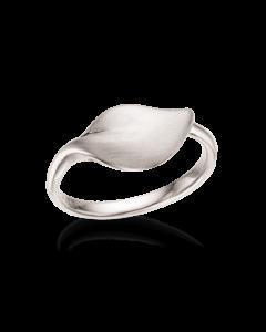 Scrouples Blad Sterling Sølv Ring 726712