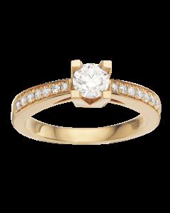 Kleopatra Queen Ring 0,53 ct. i 14 Karat Guld fra Scrouples