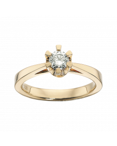 Prinsesse Ring 0,30 ct. i 14 Karat Guld fra Scrouples