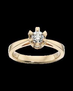 Prinsesse Ring 0,35 ct. i 14 Karat Guld fra Scrouples