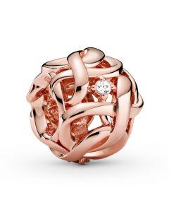 Pandora Infinity Rosaforgyldt Sølv Charm 788824C01