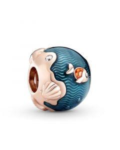 Fish & Ocean Forgyldt Sølv Charm fra Pandora 789004C01