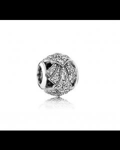 Pandora Oriental Fan Sølv Charm 791906CZ