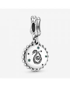 Harry Potter Slytherin Sterling Sølv Charm fra Pandora
