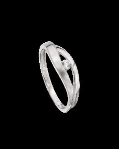 Støvring Design 14 Karat Hvidguld Ring 82232009
