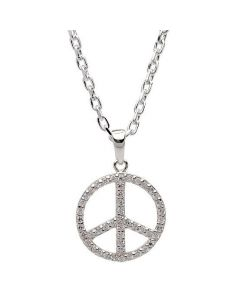 Nordahl Andersen Peace Sterling Sølv Halskæde 825126CZ9