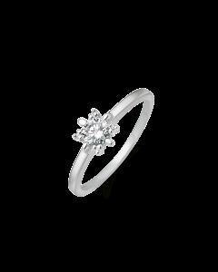 Støvring Design 8 Karat Hvidguld Ring 92206052