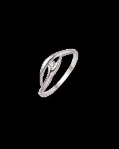 Støvring Design 8 Karat Hvidguld Ring 92232016