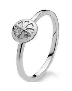White Signature Sterling Sølv Ring fra Izabel Camille