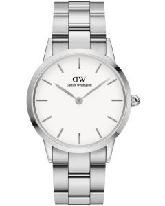 Daniel Wellington Dameur Iconic Link 36MM Silver White ADW00100203