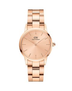 Daniel Wellington ADW00100401 - 28 MM Iconic Link Unitone Rose Gold dameur