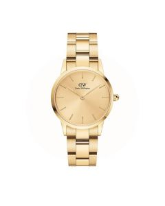 Dameur fra Daniel Wellington - ADW00100403 28 MM Unitone Gold Iconic Link