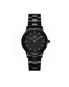 Pænt 32 MM Ceramic Iconic Link dameur fra Daniel Wellington - ADW00100414