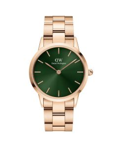 Daniel Wellington ADW00100421 - Fint dameur 28 MM Iconic Emerald Rose