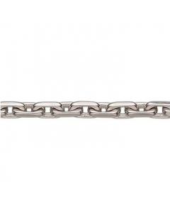 Sterling Sølv Ankerfacetkæde Tråd 1,00mm Scrouples