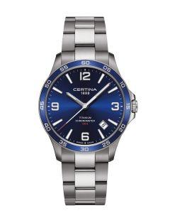 Fint DS-8 Blue herreur fra Certina - C0338514404700