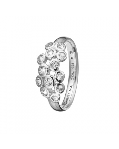 Christina Watches Collect Champagne Love Sterling Sølv Ring