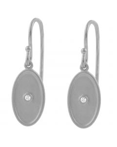 Sølv Ørehængere fra Lene Visholm E.1228RH