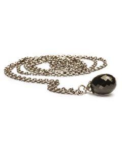 Troldekugler Fantasi Sterling Sølv Halskæde med Onyx