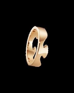 Fusion Ende 18 Karat Rosaguld Ring fra Georg Jensen