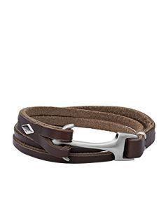 Fossil Læder Armbånd JF02205040