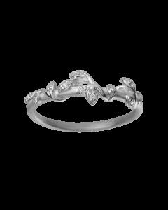 Jungle Ivy Sparkle Sterling Sølv Ring fra byBiehl