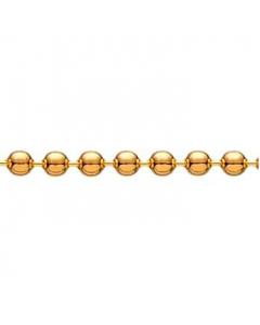Forgyldt Kuglekæde Tråd 1,20mm Scrouples