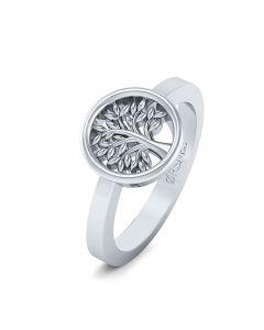 Livets Træ Sterling Sølv Ring fra Smykkekæden ORSN015S