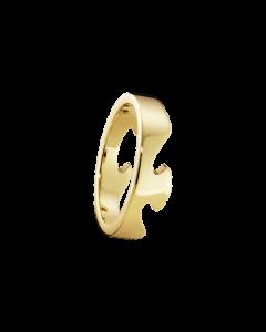 Fusion Ende 18 Karat Guld Ring fra Georg Jensen 20000291H