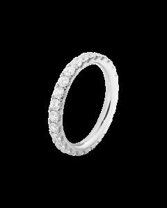 Georg Jensen Aurora Ring i 18 Karat Hvidguld med Brillanter 0,91 - 0,98 Carat TW/VS