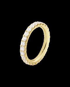 Georg Jensen Aurora 18 Karat Guld Ring med Brillanter 0,91 - 0,98 Carat TW/VS