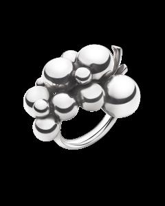Moonlight Grapes Stor Sterling Sølv Ring fra Georg Jensen