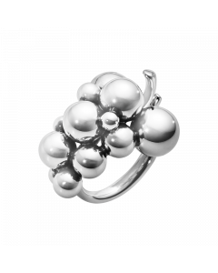 Georg Jensen Moonlight Grapes Mellem Ring i Sterling Sølv