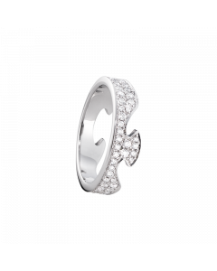 Georg Jensen Fusion Ende 18 Karat Hvidguld Ring med Brillanter 0,66 - 0,99 Carat TW/VS