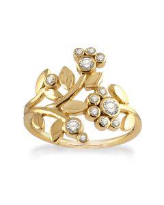 Rabinovich Ring i Forgyldt Sølv 64920370