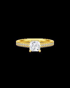 Julie Sandlau Imperial Ring i Forgyldt Sølv