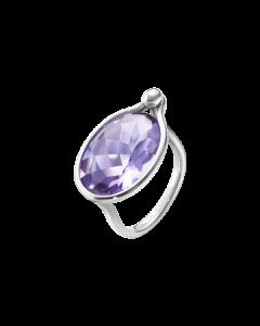 Savannah Sterling Sølv Ring fra Georg Jensen med Ametyst
