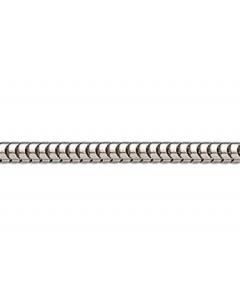14 Karat Hvidguld Slangekæde Tråd 1,40mm Scrouples