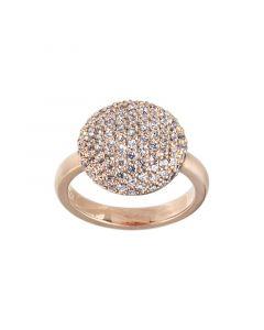 byBiehl Sparkle Rosaforgyldt Sølv Ring 5-701A-RG