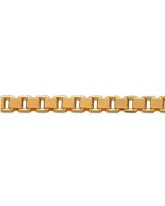 8 Karat Guld Veneziakæde Tråd 0,80mm Scrouples