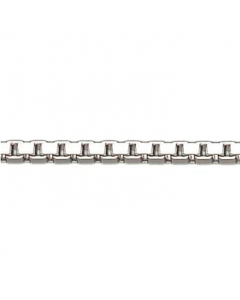 14 Karat Hvidguld Veneziakæde Tråd 1,00mm BNH