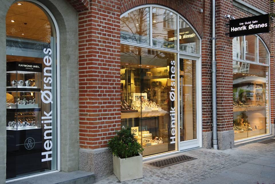 Henrik Ørsnes butik - Boulevarden