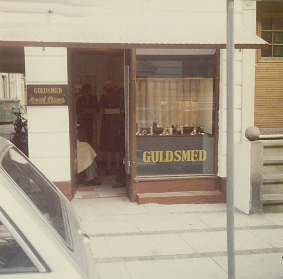 Henrik Ørsnes - Første butik i Aalborg
