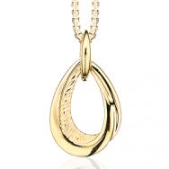 Guld halskæde