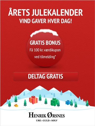 Julekalender Henrik Ørsnes